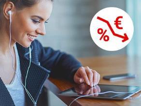 Preisrutsch bei Tablets: Aktuelle Modelle bereits nach 6 Monaten 50 bis 100 Euro günstiger