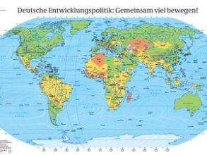 Eine kostenlose Wand-Weltkarte für euch