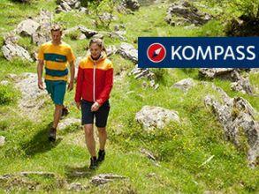 """Kostenlose Wanderkarte L in der """"Kompass""""-App sichern"""