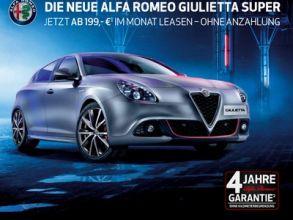 """Alfa Romeo """"Giulietta"""" kostenlos Probe fahren"""
