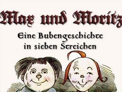 Gratis-E-Book: Max und Moritz-Bubengeschichte