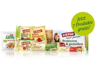 7 Gefro-Produkte GRATIS: Suppen, Soßen und mehr