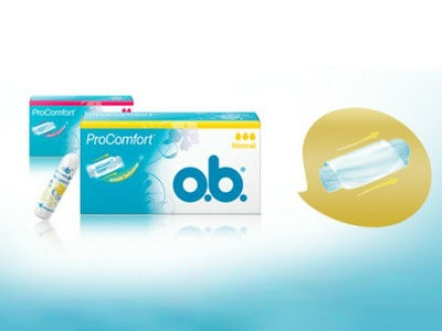 Tampons von o.b. im Probierset gratis bestellen