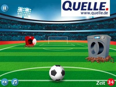 Fußball-Gewinnspiel bei Quelle: iPad, Fernseher und mehr!