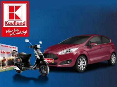 Ford Fiesta beim Kaufland-EM-Tippspiel gewinnen!
