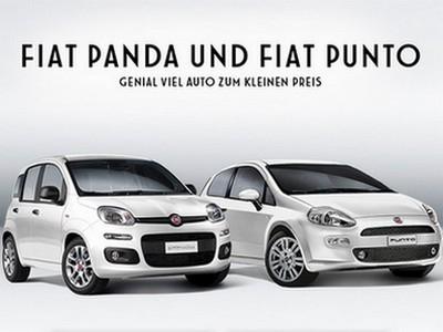 Gratis Probefahrt mit dem Fiat Panda oder Punto!