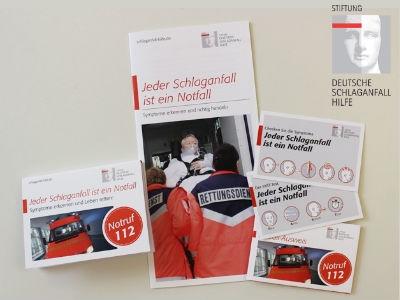 Notfall-Hilfe: Schlaganfall-Infoset gratis!