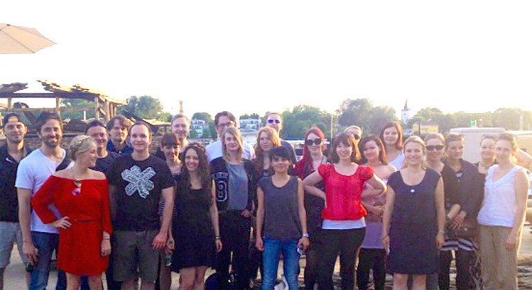 Das Team der SPARWELT Redaktion beim diesjährigen Teamevent