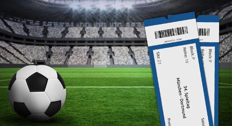 Online clever an Fußball-Tickets kommen