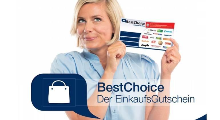 Bestchoice-Einkaufsgutschein einfach erklärt