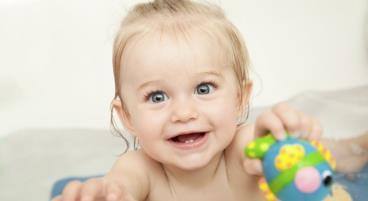 Erstausstattung für das Baby