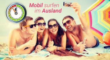 Internet auf dem Smartphone günstig im Ausland nutzen