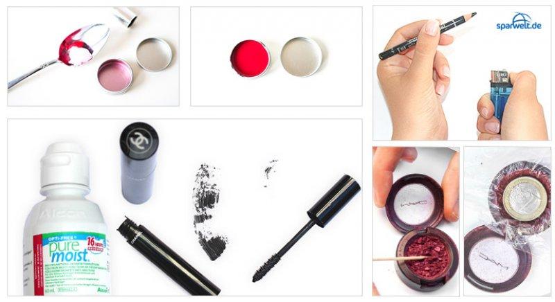 Bei Make-up-Chaos und Schminkpatzern helfen euch diese supergünstigen Reparatur- und Schminktipps.